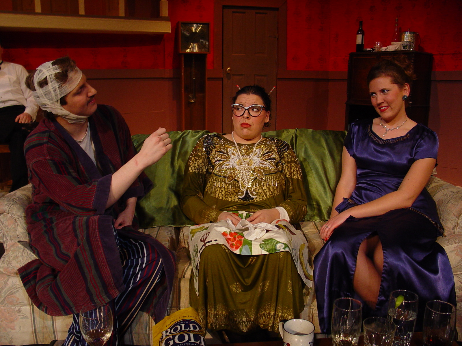 Sterling College Photo - The Sterling College Theatre Department puts on 6-8 shows a year, including a full-length musical, classical piece, student directed shows and one act plays. This picture is from the 2008 production of Rumors, by Neil Simon.